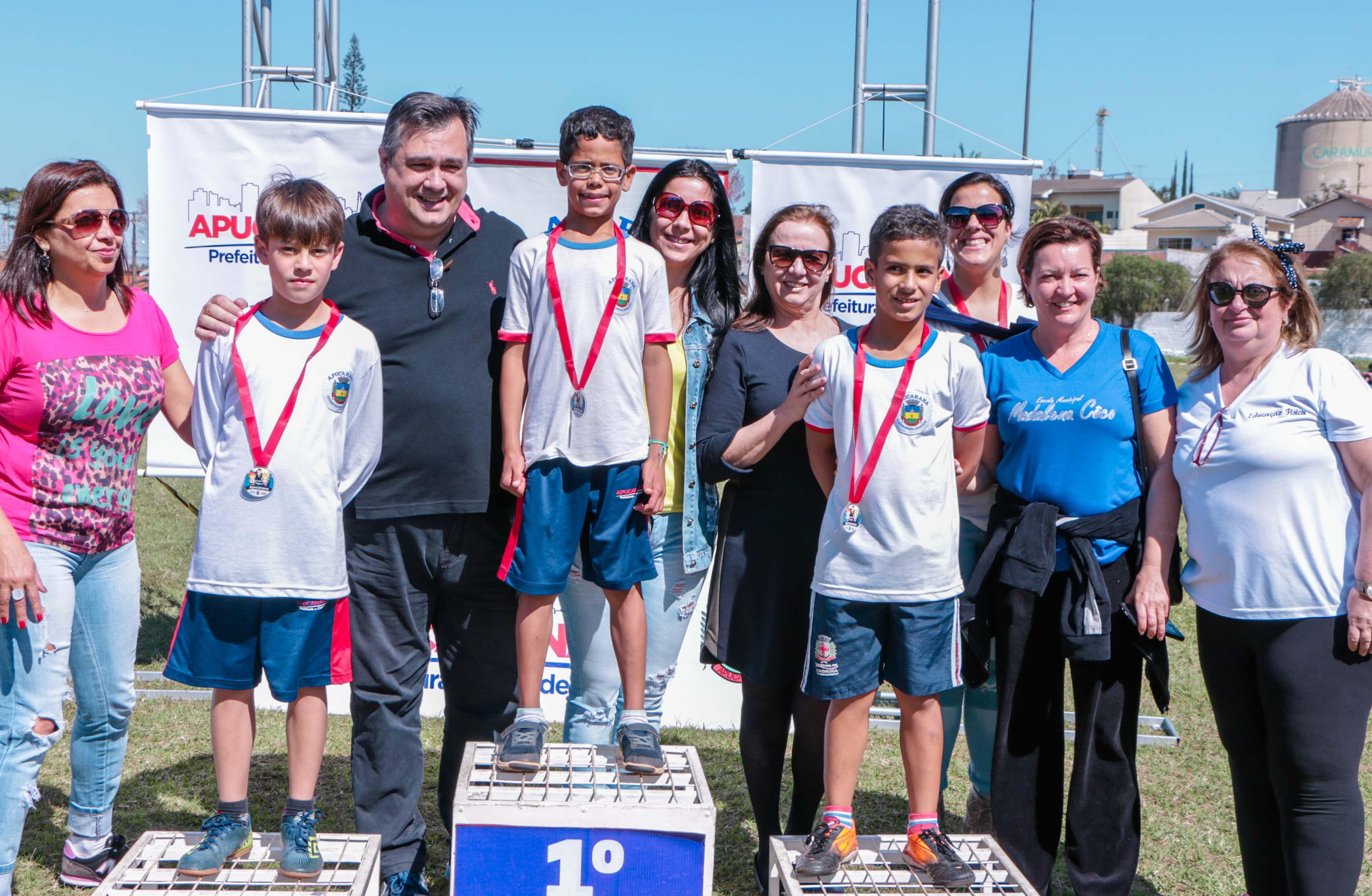 Lagoão recebe 787 jovens para disputar 2º Festival de Atletismo