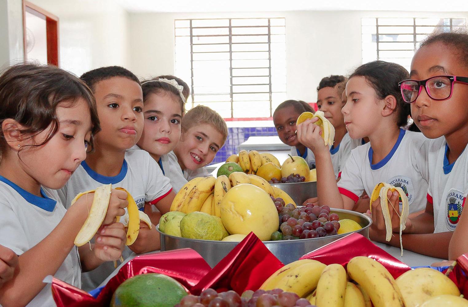 Educação divulga cardápios das Escolas e CMEIs municipais