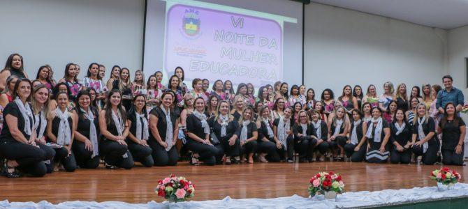 Prefeitura homenageia educadoras do município