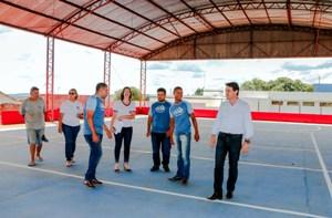 Quadra poliesportiva da Vila Reis será entregue na próxima semana