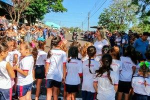 Corrida de Rua reúne 350 alunos das escolas municipais no Jardim Ponta Grossa
