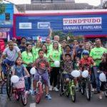 Pedala Apucarana reúne ciclistas e arrecada brinquedos