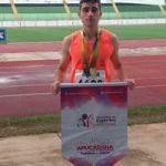 Apucaranense é destaque no Campeonato Paranaense Caixa de Atletismo
